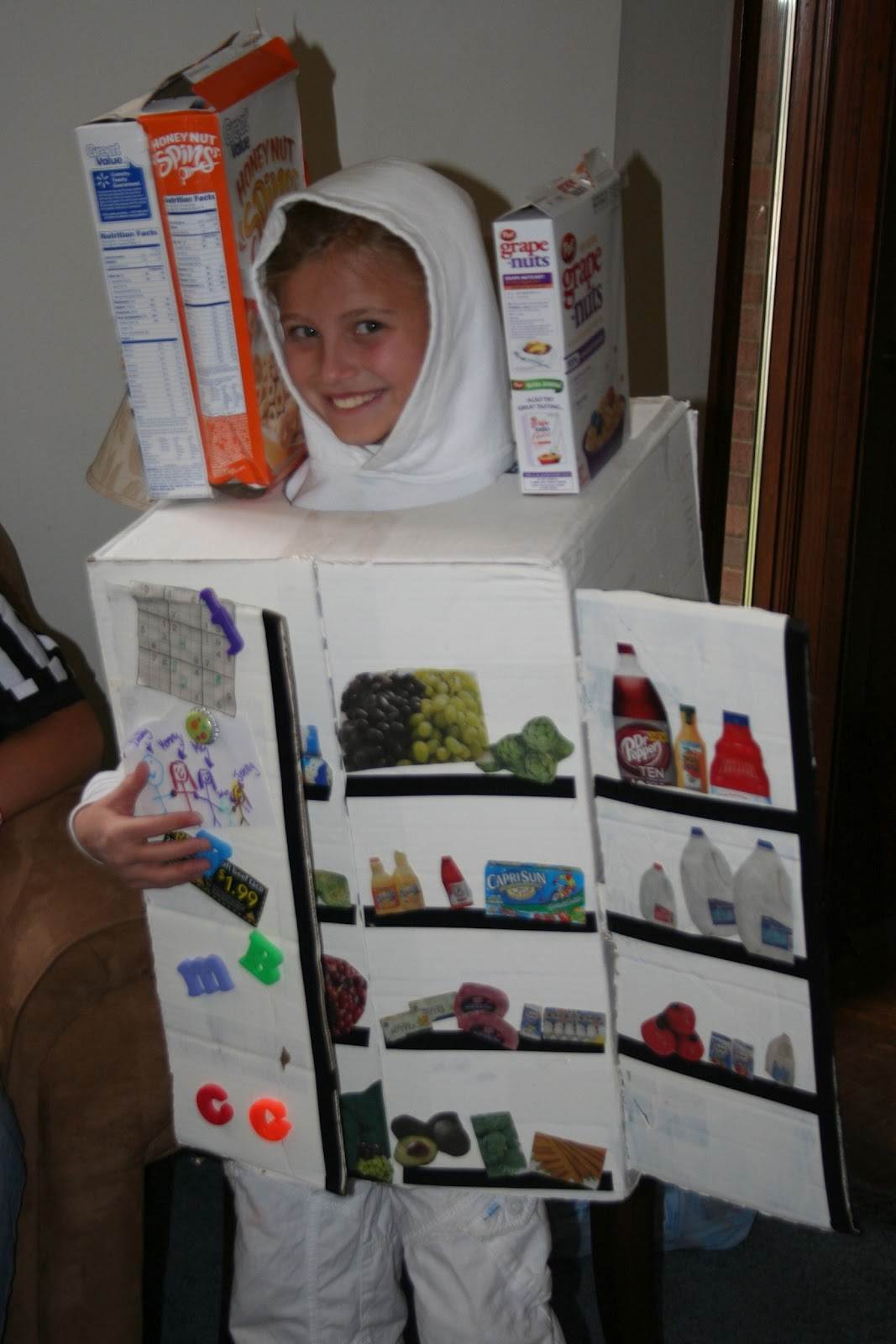 mommy lessons 101: halloween costume idea: walking refrigerator