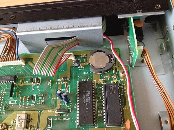 Korg M3r battery