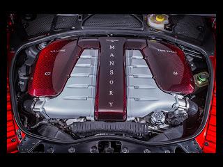 Motor w12 662hp