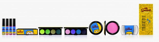 MAC The Simpsons Marge Simpson Collection - Colour Story