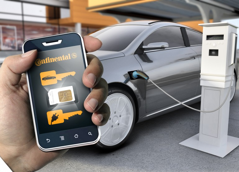 Continental   NFC Key Control Systems For Automobiles