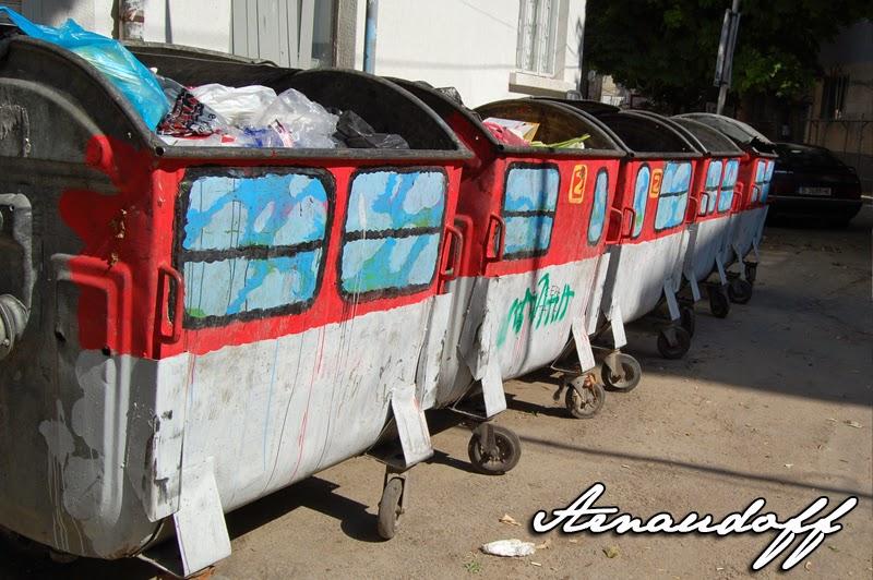 контейнери за боклук варна