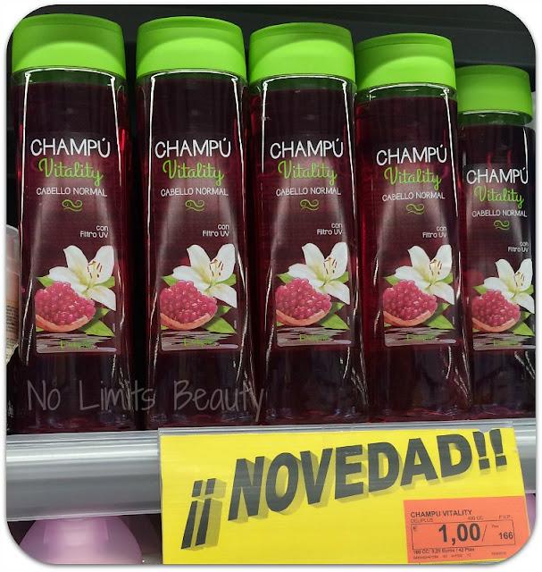 Champú Vitality - Deliplús