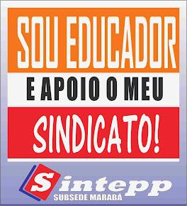 Educador que luta apoia o seu sindicato!