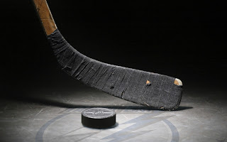Hockey Stick Puck HD Wallpaper