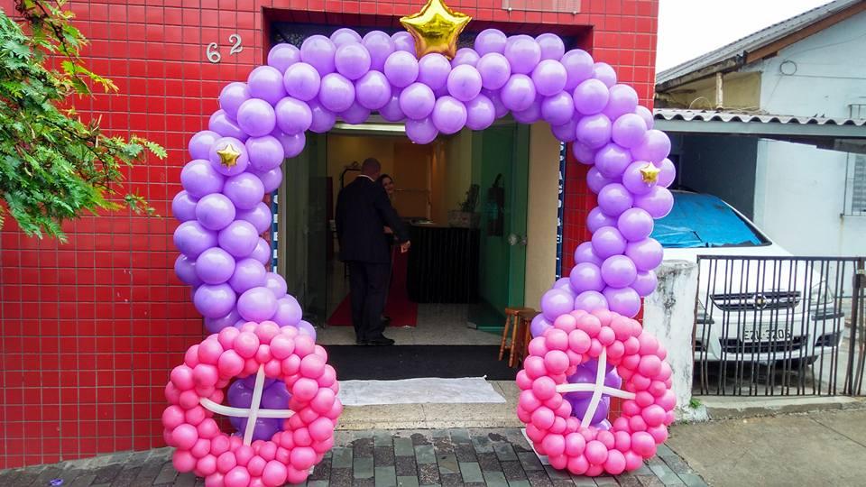 Arco balão estilo Carrossel