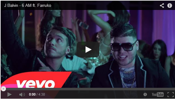 J Balvin - 6 AM ft. Farruko