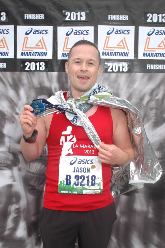 LA Marathon 2013 Finisher