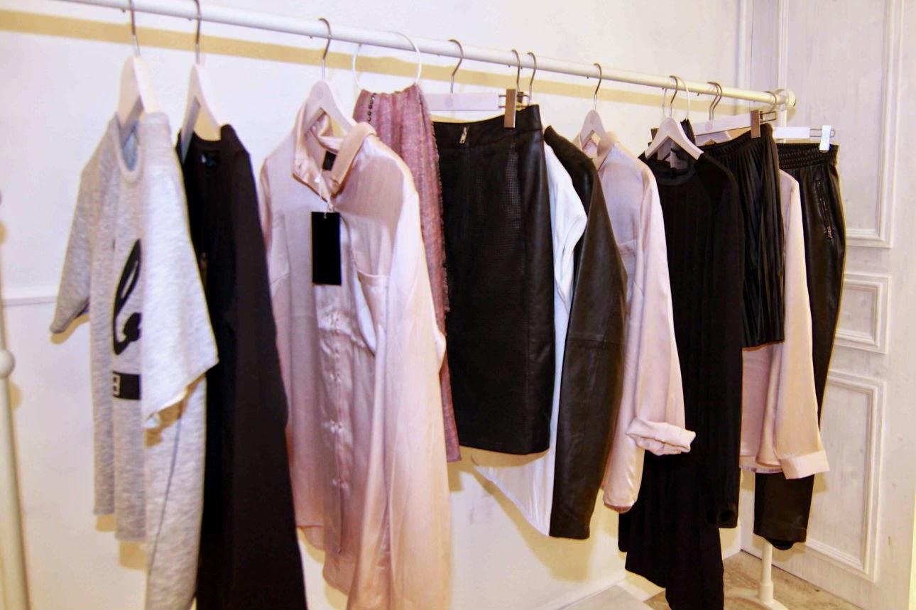 Kleidung an der Stange, Mondelli Concept Store Eröffnung Würzburg, Mondelli Store,