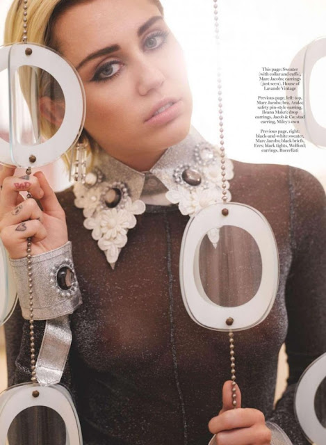 Miley Cyrus – Marie Claire UK