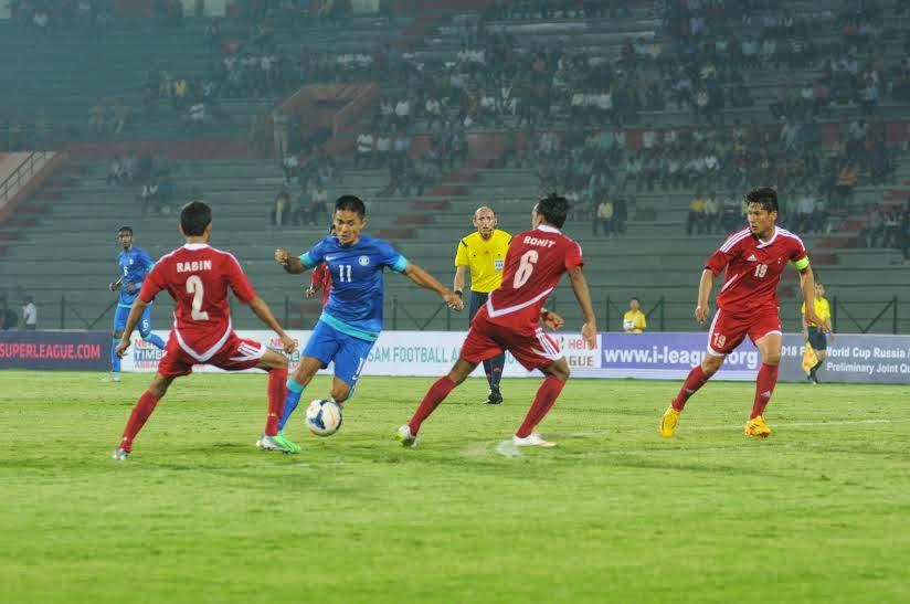 India 2-0 Nepal