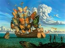 Mariposas de Dali.