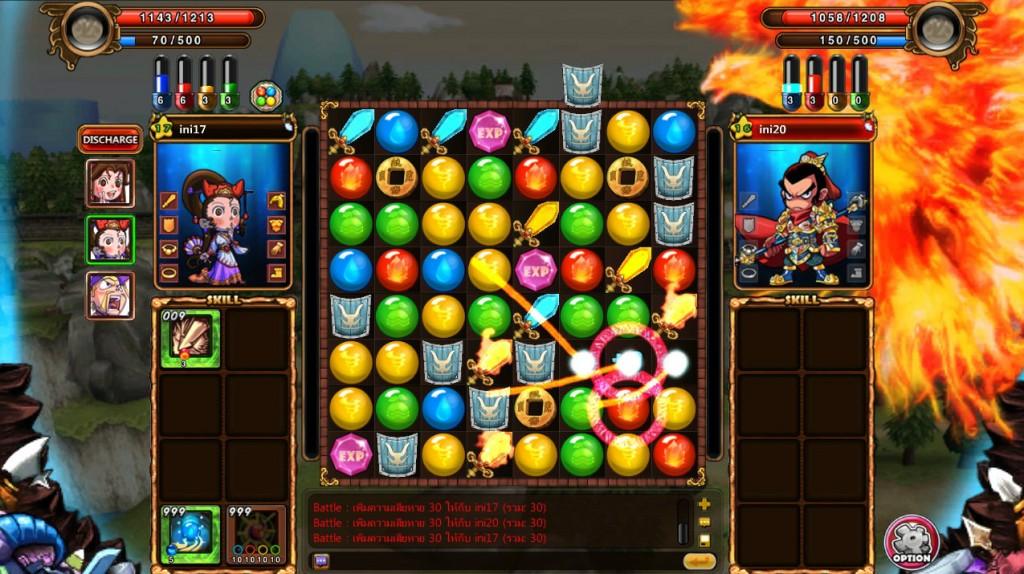 การเรียงผลึกธาตุ คล้าย ๆ เกม Bejeweled