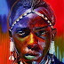 25 Colorful Portrait Paintings By Stephen Bennet