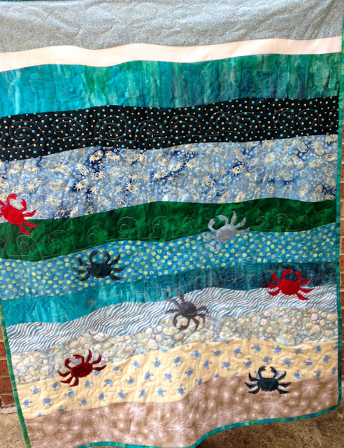 A Moment of Whimsy: Crabby Baby Quilt