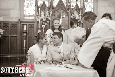 Wedding Ceremony Recap - Traditional Church Ceremony - St Paul's Anglican Church, Burwood - Signing the Marriage Certificate