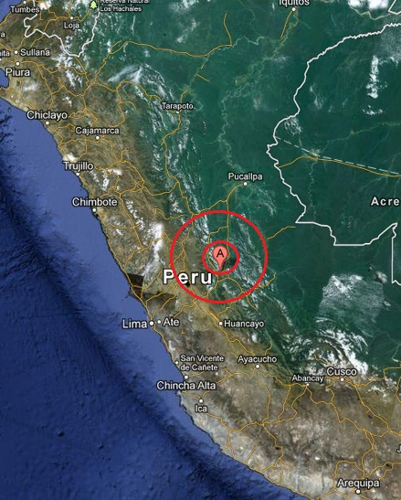 central peru earthquake 2013 April 10