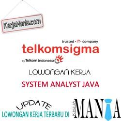 Lowongan Kerja IT TelkomSigma