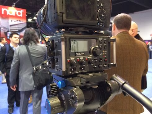 Tascam DR 60D at NAMM 2014 image