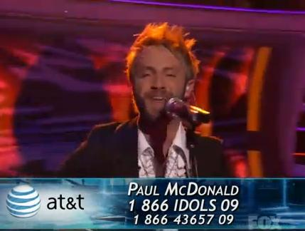 american idol paul mcdonald video. Paul McDonald – Folsom Prison