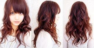 Contoh Model Gaya Rambut Layer Terbaru