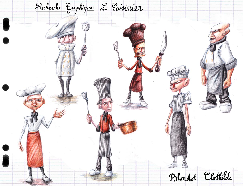Clothilde blondot for Recherche cuisinier