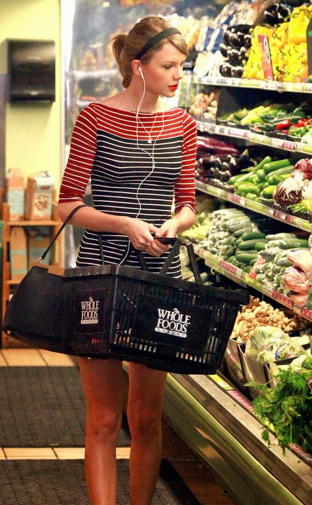 Taylor Swift en el supermercado