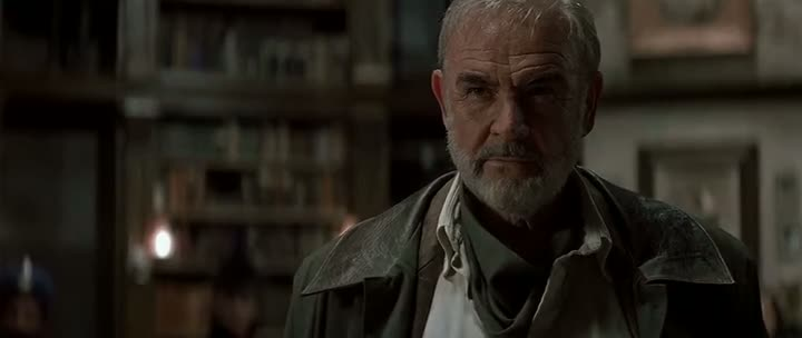 Screen Shot Of The League of Extraordinary Gentlemen (2003) Dual Audio Movie 300MB small Size PC Movie