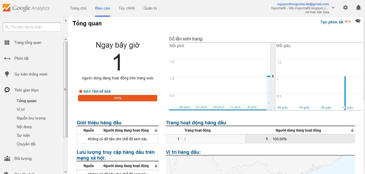 huong dan su dung google analytics