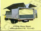 WINGS BOX ALUMUNIUM MITSUBISHI FE 73 HD