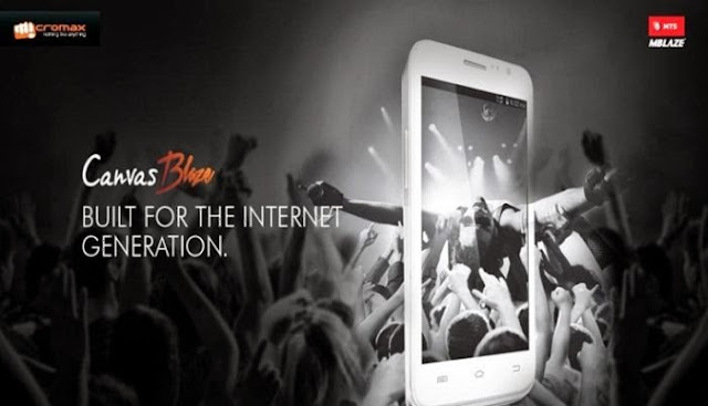 Micromax is going to launch its very first GSM+CDMA Android phone Canvas Blaze in India