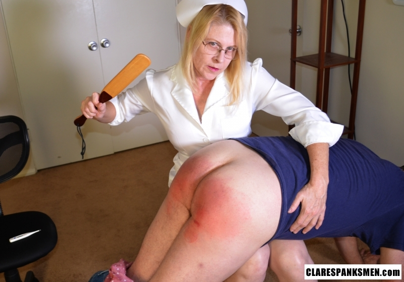 Site women dominatrix spank men video