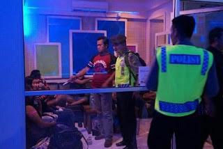 Kabag Ops Polres Grobogan Pimpin Razia Tempat Hiburan