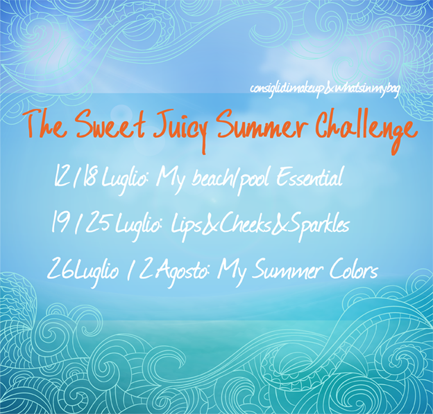 Summer Squishy Tag Kay Bundt : Tag: The Sweet Juicy Summer Challenge   What s in my bag