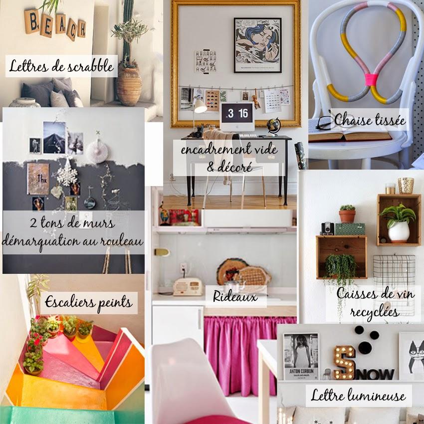 Une touche de rose blog mode diy cuisine beaut les - Diy deco maison ...