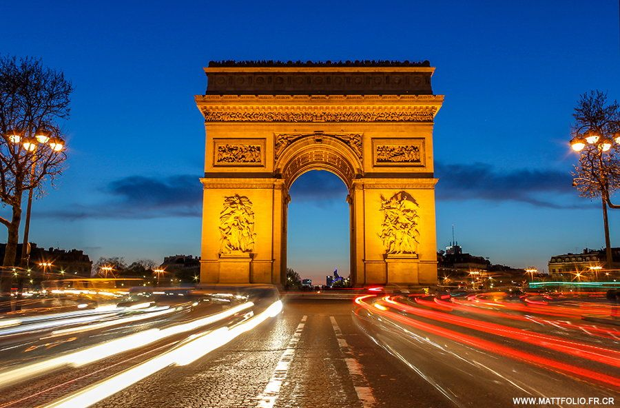 9. Arc de Triomphe III by Matthieu Plante