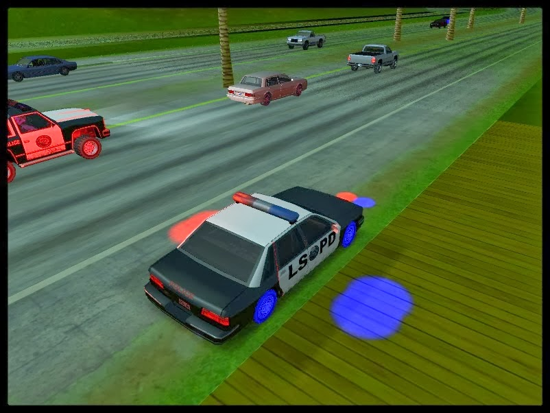 GTA SA - Emergency Lights Mod