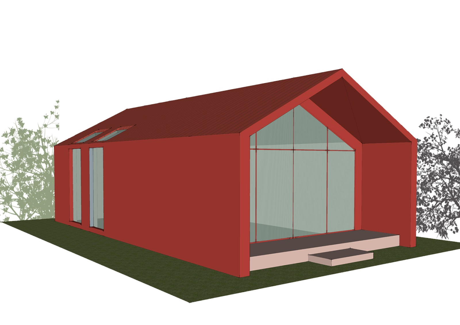 Progetti di case in legno casa 191 mq terrazze 25 mq - Prezzo intonaco esterno ...