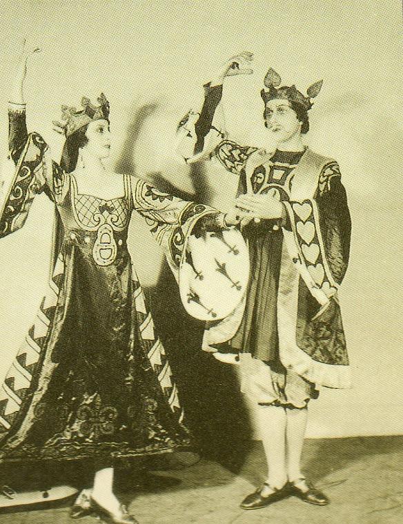 Balé A Boutique Caprichosa (Londres, 1919).