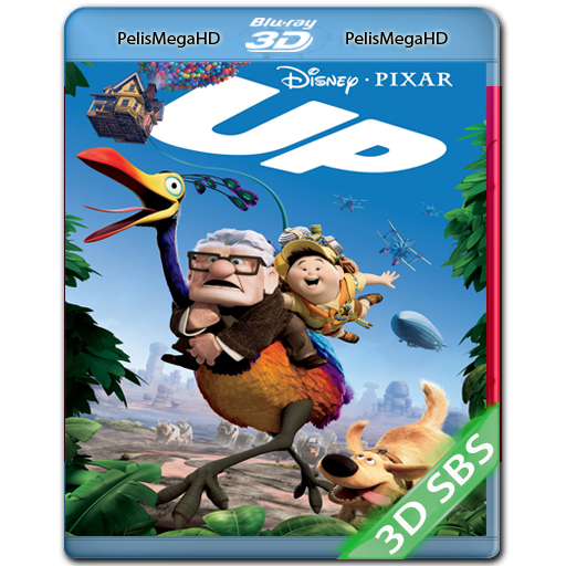 Up, una Aventura de Altura (2009) 3D SBS 1080P HD MKV ESPAÑOL LATINO
