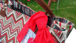 Borsa tessuto Gobelin verde, rosso, arancio o tortora