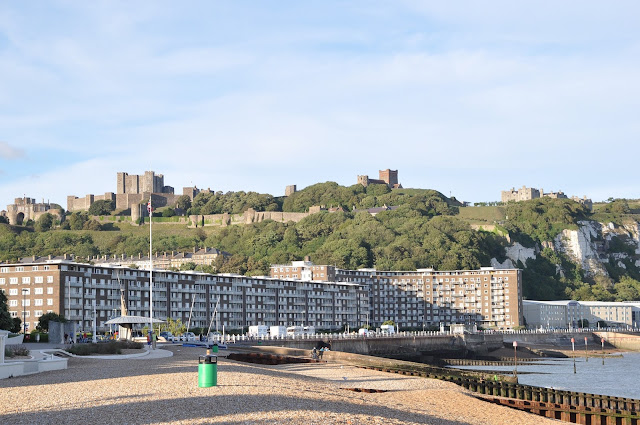 Dover+Castle+and+waterfront