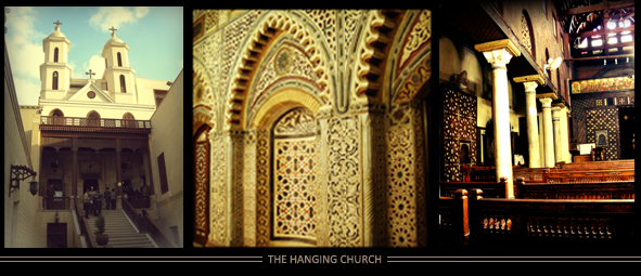the hanging church in cairo