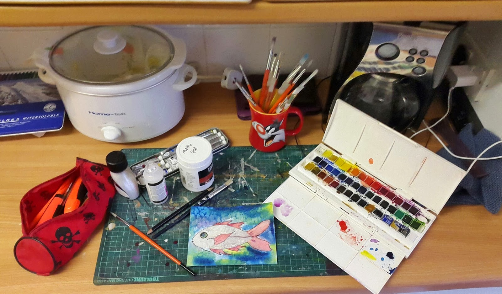 Whoopidooings: WOYWW - What's On Your Workdesk Wednesday 297