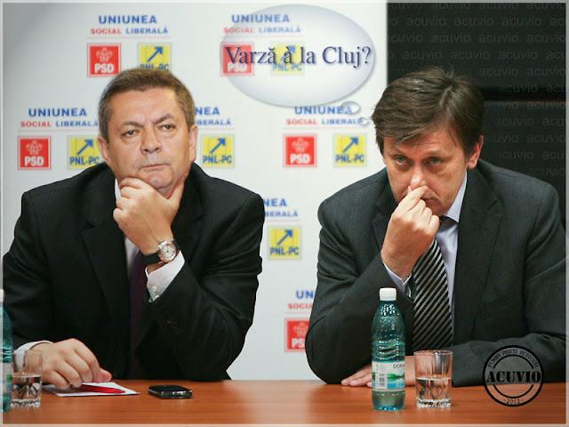 Funny photo Ioan Rus Crin Antonescu