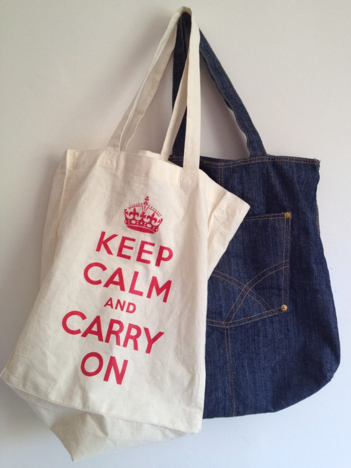 KNITTING PROJECT TOTES