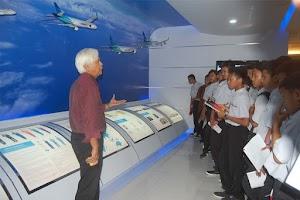 Kunjungan Ke Bengkel Pesawat Garuda GMF AeroAsia dan GITC