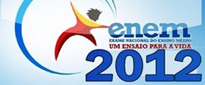 INSCRIÇÕES PARA O ENEM 2012