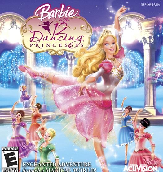 Barbie In The 12 Dancing Princesses MULTI4 PAL PS2DVD RoME