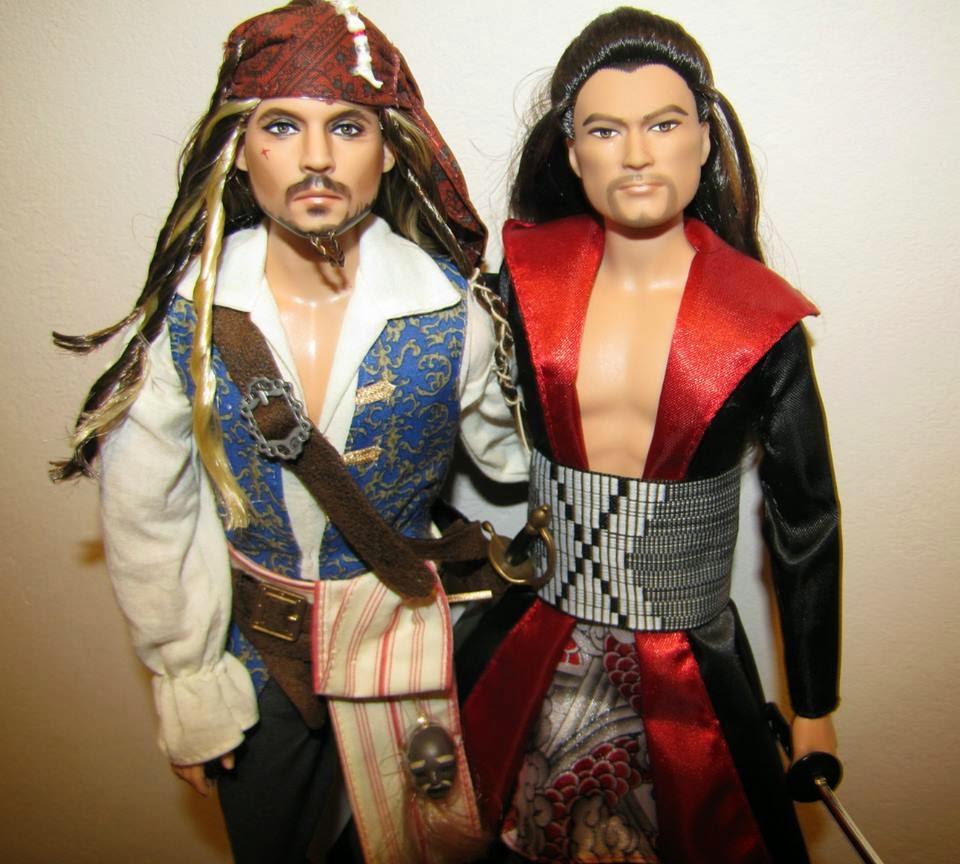 Jack Sparrow, Angelica i ...Samuraj